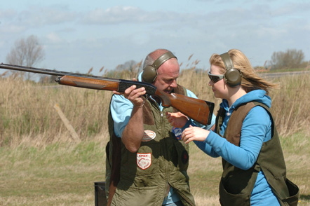 Clay shooting at Cranmer Country Cottgaes
