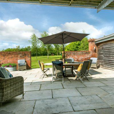 Garden House Terrace Eco Barn