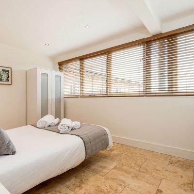 Garden House Eco Barn Bedroom