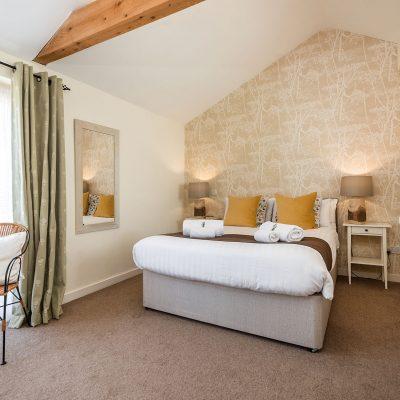 Owl Luxury Holiday Cottage Bedroom