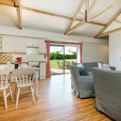 Owl Luxury Holiday Cottage Living Area