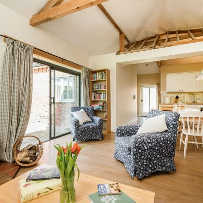 Wagtail Luxury Holiday Cottage Living Space
