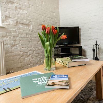 Wagtail Luxury Holiday Cottage Woodburner