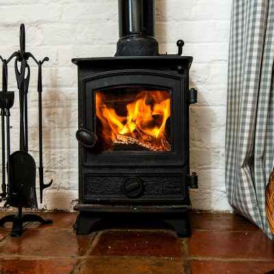 Wagtail Luxury Holiday Cottage Woodburner