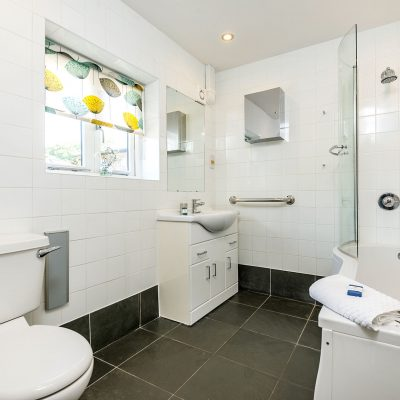 Wagtail Luxury Holiday Cottage Family Bathroom