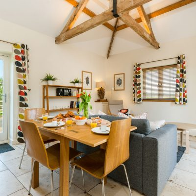 Coot Luxury Holiday Cottage Living Area