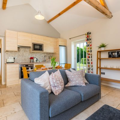 Coot Luxury Holiday Cottage Kitchen