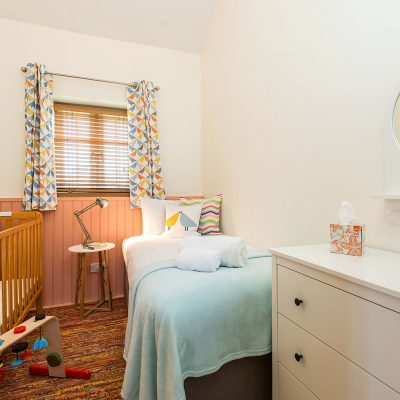 Coot Luxury Holiday Cottage Single Bedroom