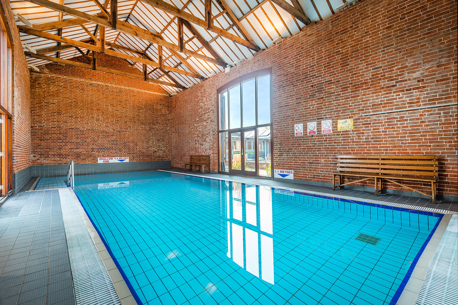 self catering luxury holiday cottages with heated indoor swimming pool
