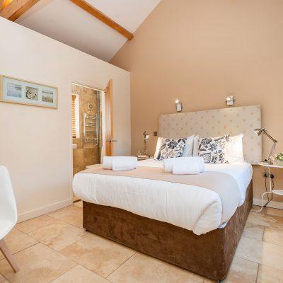 Avocet Luxury Holiday Cottage Bedroom