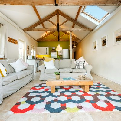 Avocet Luxury Holiday Cottage Living Area