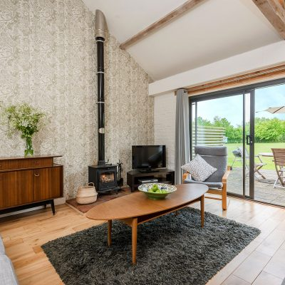 Swallow Luxury Holiday Cottage Living Area