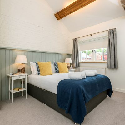 Swallow Luxury Holiday Cottage Bedroom