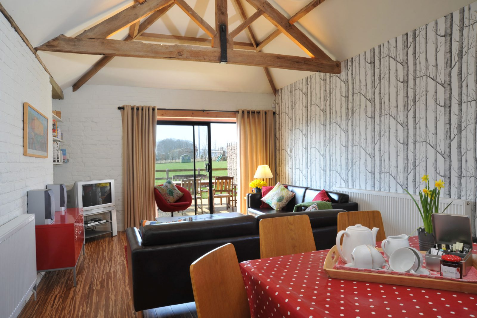 Woodpecker Cottage 5 Luxury Holiday Cottage In Norfolk Sleeps 5 Cot
